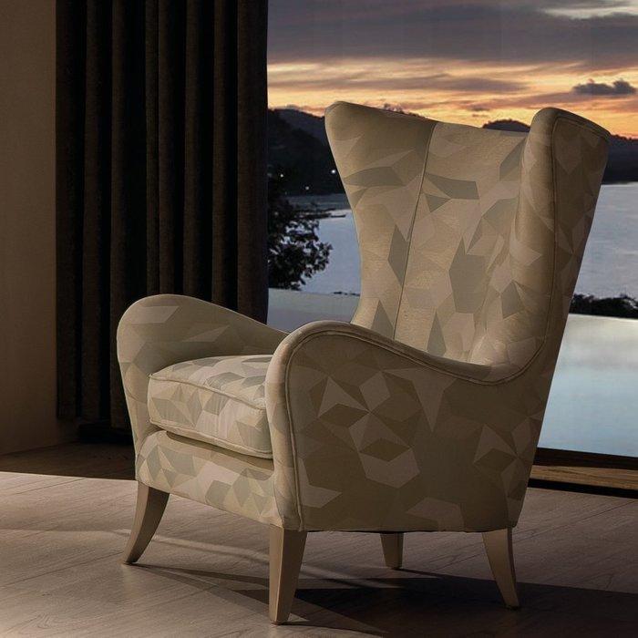 Кресло Rimini коричневого цвета