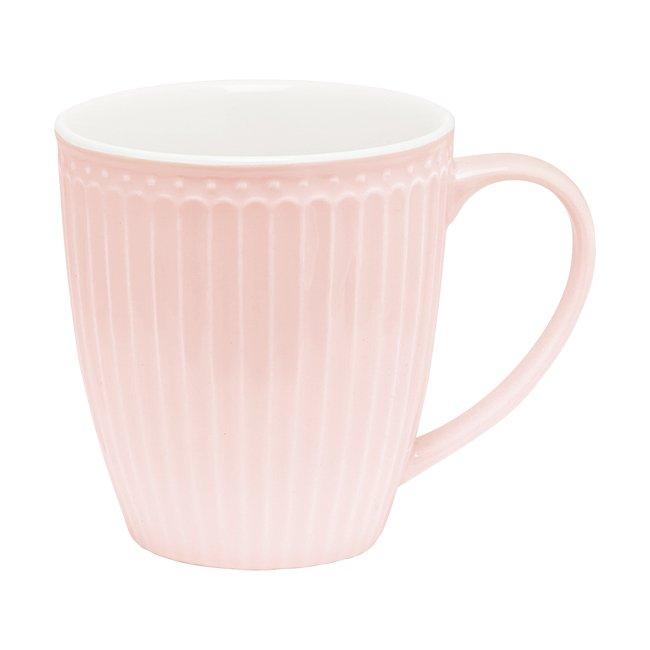 Кружка Alice pale pink из фарфора