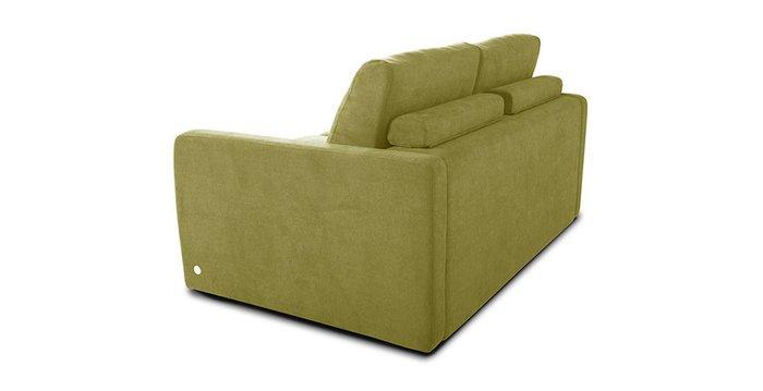 Прямой диван-кровать Бруно зеленого цвета