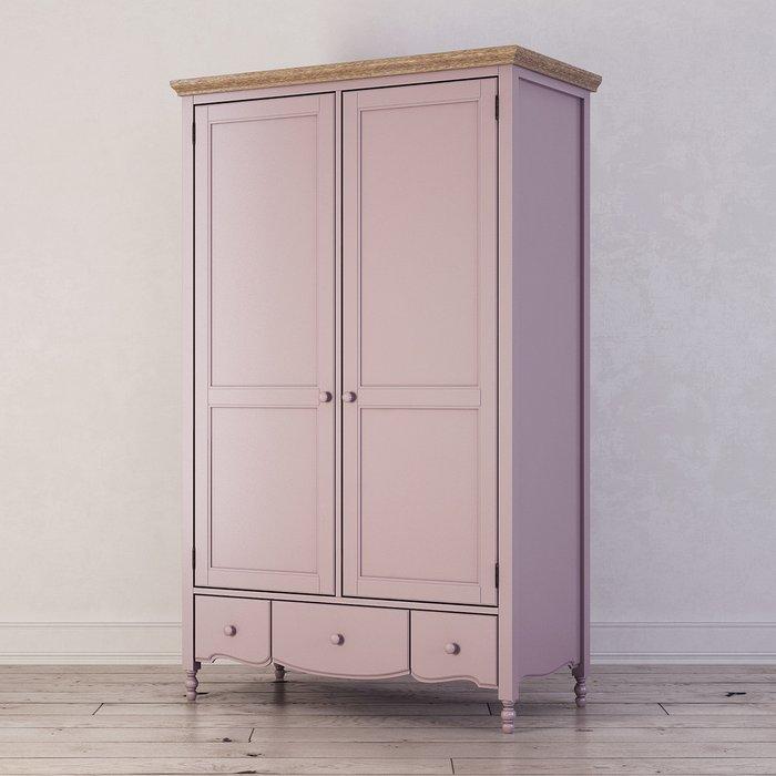 Шкаф двухстворчатый Leblanc лавандового цвета