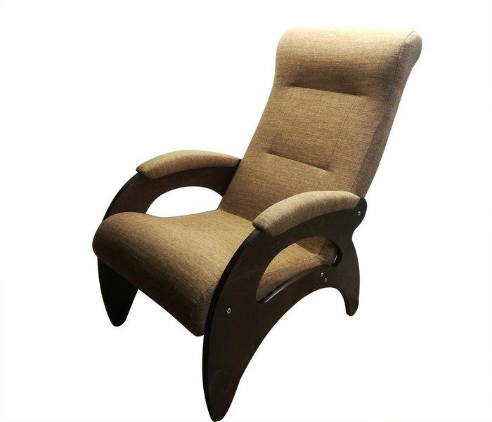 Кресло Мария светло-коричневого цвета