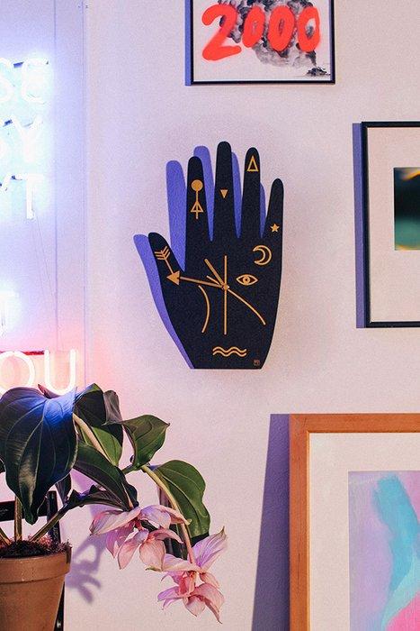 Часы Mystic Time Hand черного цвета