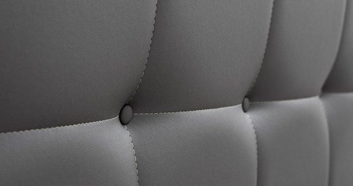 Кровать Хлоя 160х200без подъемного механизма серого цвета