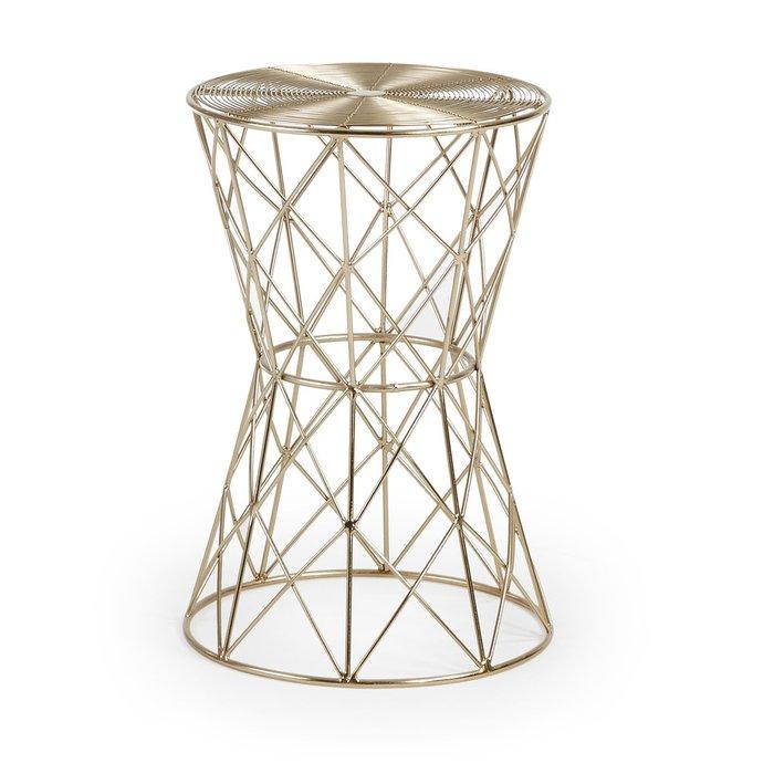 Кофейный столик Julia Grup Ione из металлических стержней