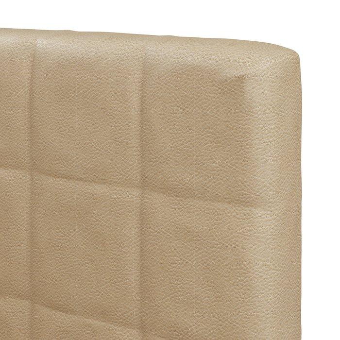 Кровать Магна 180х200 бежевого цвета с подъемным механизмом
