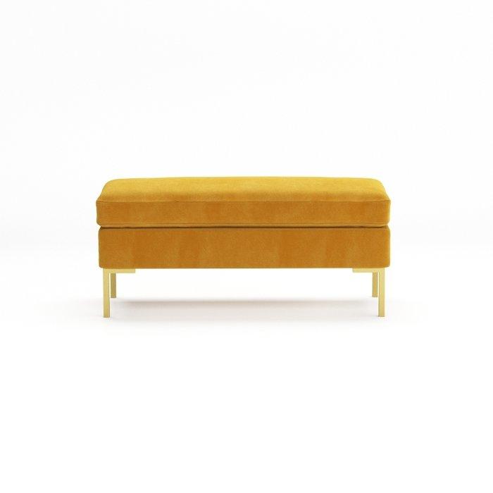 Банкетка Kona золотого цвета