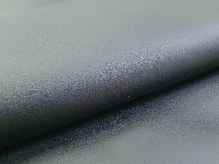 Прямой диван-кровать Белфаст черного цвета (книжка/экокожа)