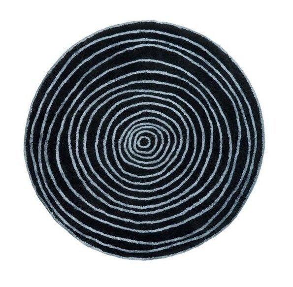 Круглый ковер Laps из шерсти и вискозы 200 см