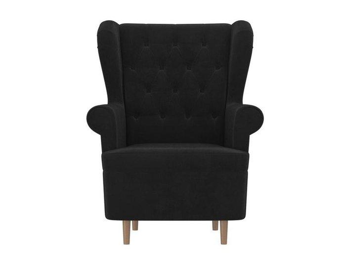 Кресло Торин Люкс черного цвета