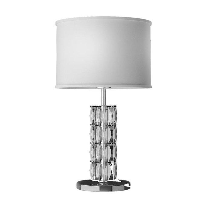 Настольная лампа Talento из металла и стекла