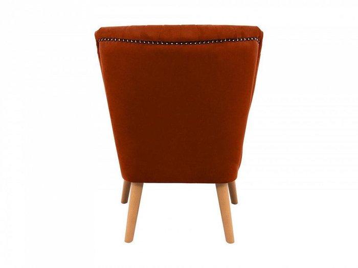 Кресло Barbara терракотового цвета