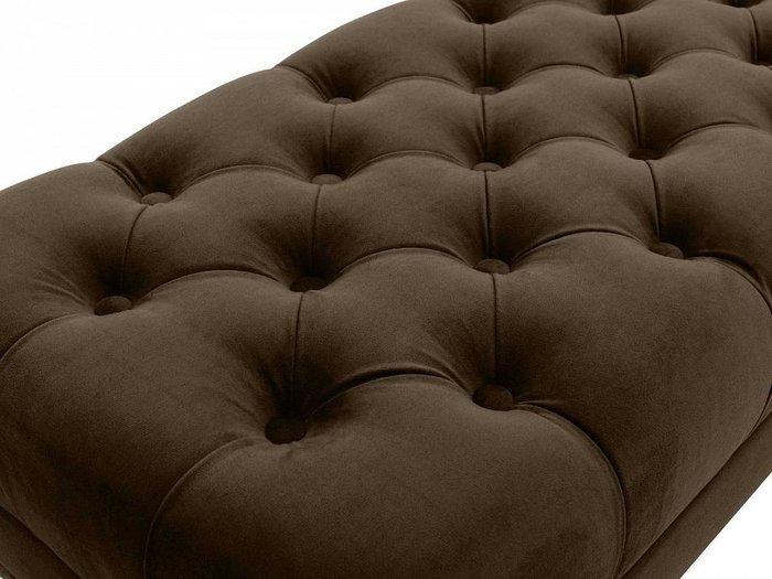Банкетка Jazz темно-коричневого цвета