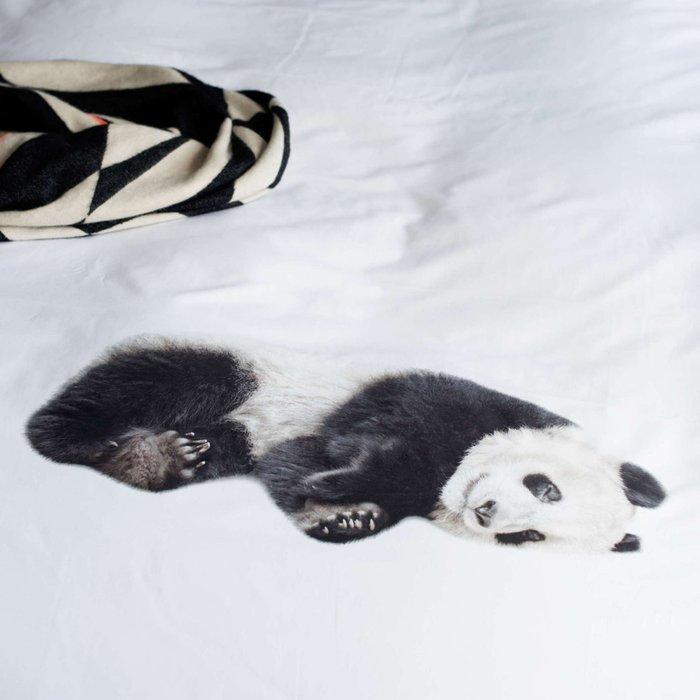 Комплект постельного белья Ленивая панда 150х200