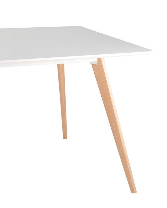 Обеденный стол Frank с белой столешницей
