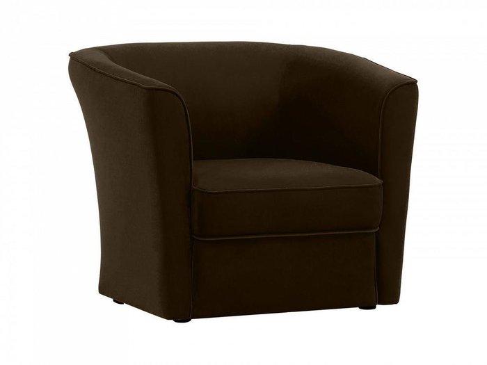 Кресло California темно-коричневого цвета