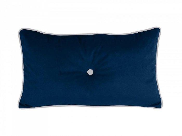 Декоративная подушка Pretty темно-синего цвета