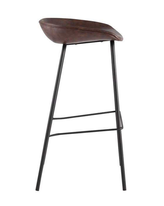 Барный стул Beetle Lite PU темно-коричневого цвета