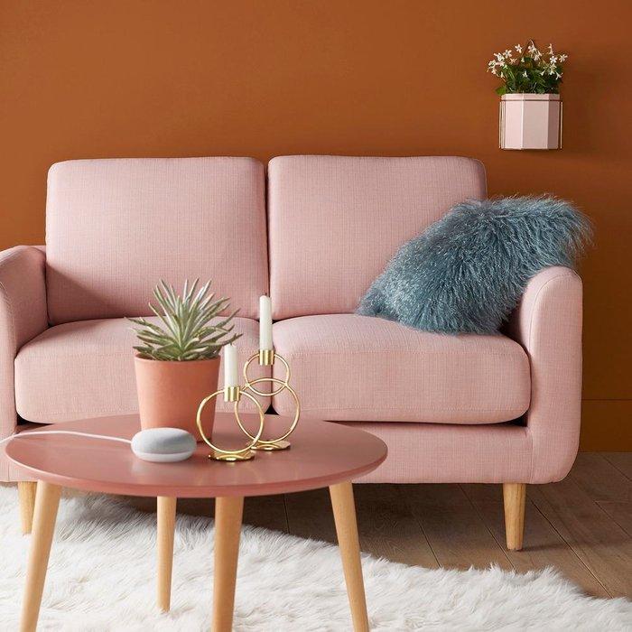 Диван Jimi розового цвета