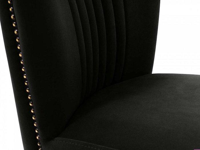 Кресло Barbara черного цвета