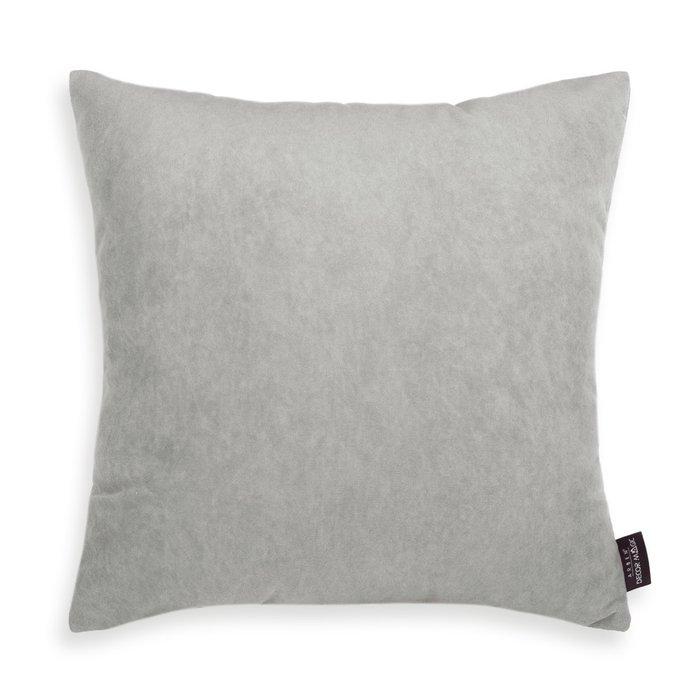 Декоративная подушка Ultra Dove 45х45 светло-серого цвета