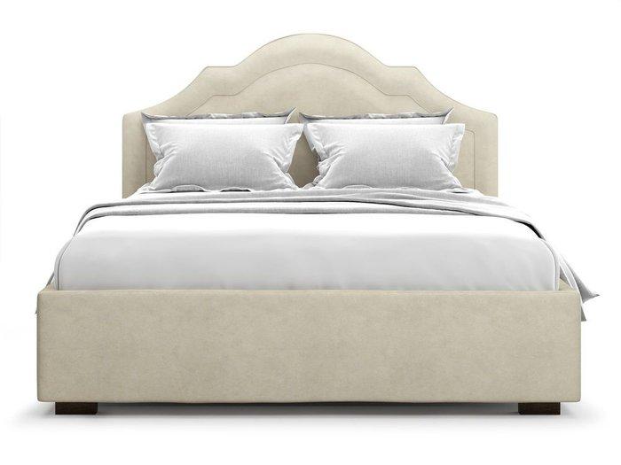 Кровать с подъемным механизмом Madzore 180х200 бежевого цвета