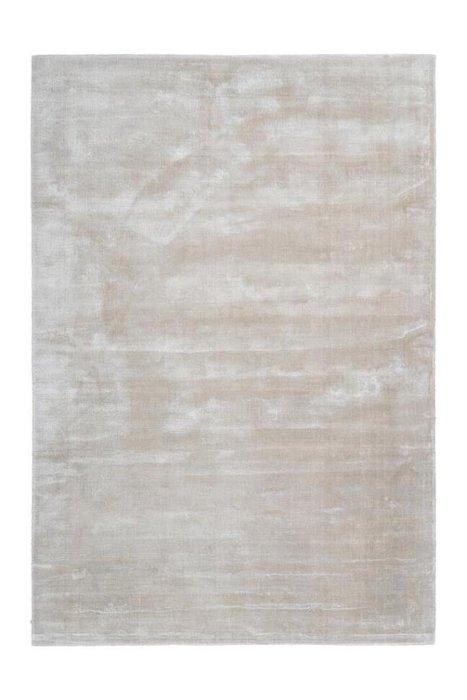 Однотонный ковер Bamboo кремового цвета 80х150