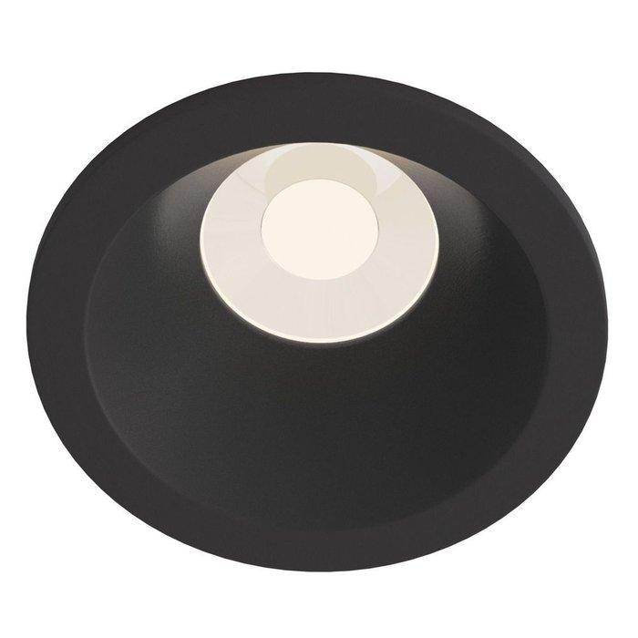 Встраиваемый светильник Zoom черный