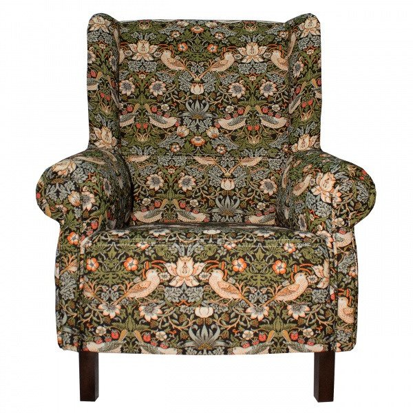 Кресло Венецианская пчёлка на деревянных ножках