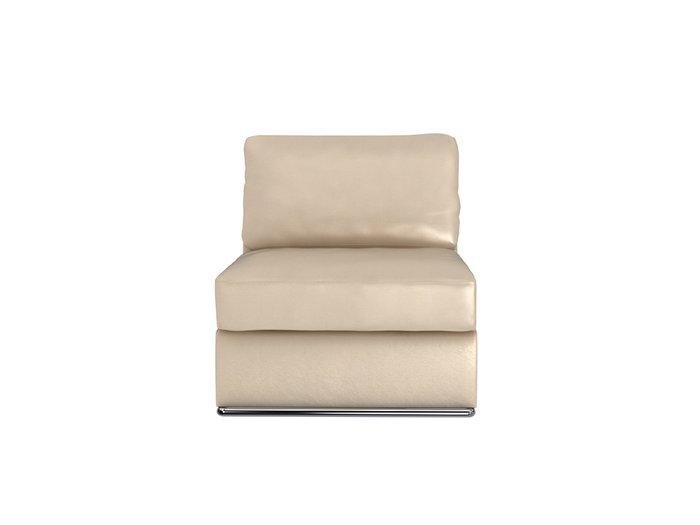 Кресло Mango бежевого цвета