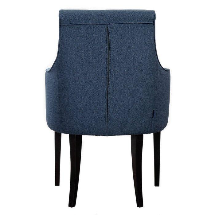 Кресло Чикаго Сканди Блю Арт синего цвета
