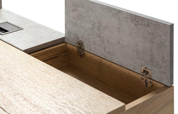 Стол рабочий Loft цвета Дуб натуральный