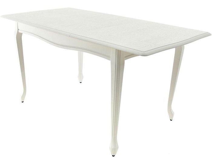 Стол раздвижной Кабриоль белого цвета