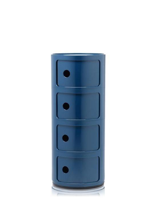 Комод Componibili синего цвета