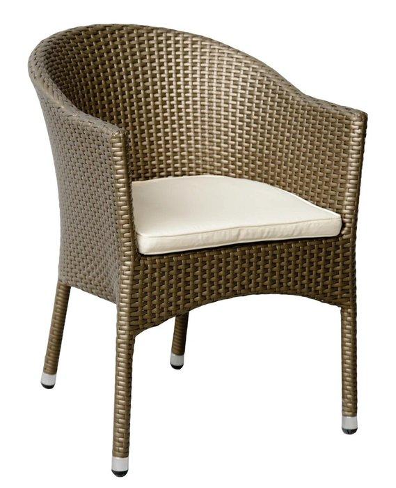 Кресло садовое Lugano цвета мокко