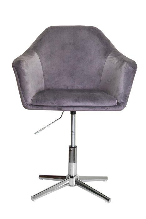 Поворотное кресло Dubai темно-серого цвета