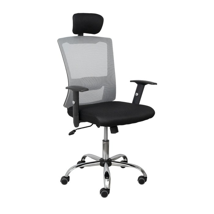 Компьютерное кресло Sirus серо-черного цвета