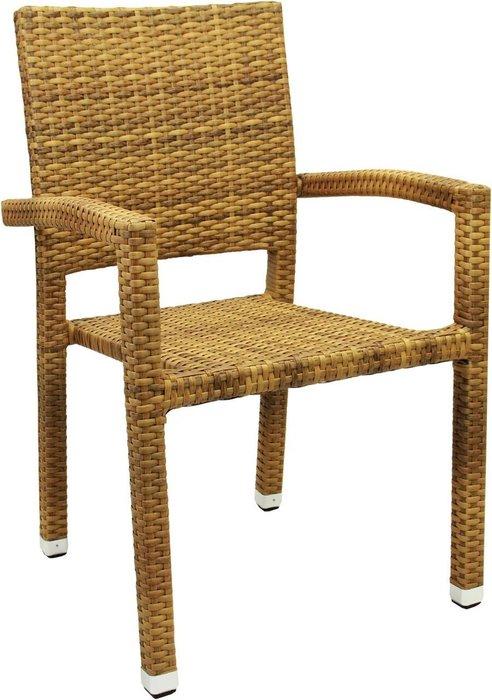 Кресло садовое Porto цвета табак