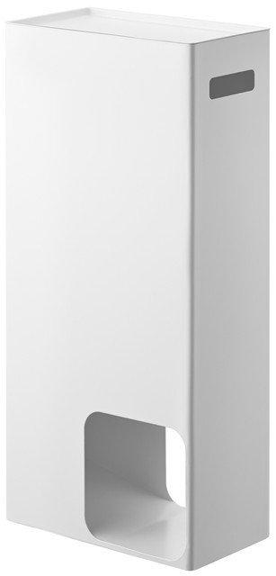 Тумба для ванной Tower белого цвета