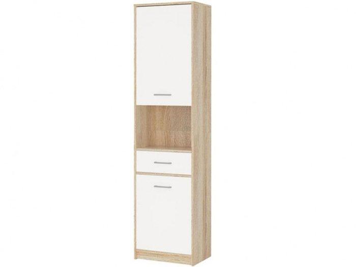 Шкаф-пенал Стелс белого цвета
