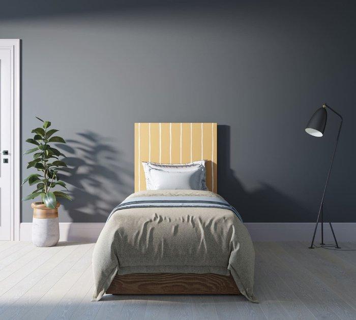Кровать Berber 90х200 бежево-желтого цвета