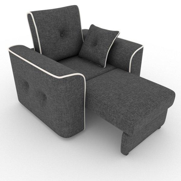 Кресло-кровать Navrik серого цвета