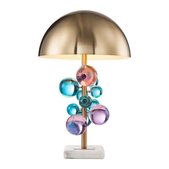 Настольная лампа Tous с золотым плафоном