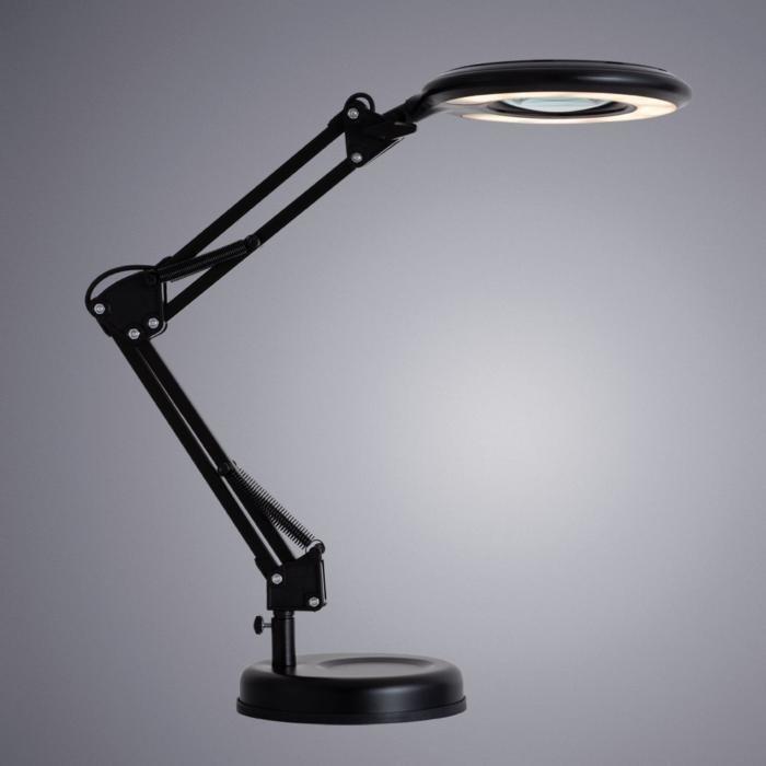 Настольная лампа Luna с лупой
