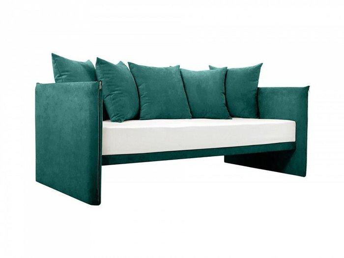 Диван-кровать Milano зеленого цвета