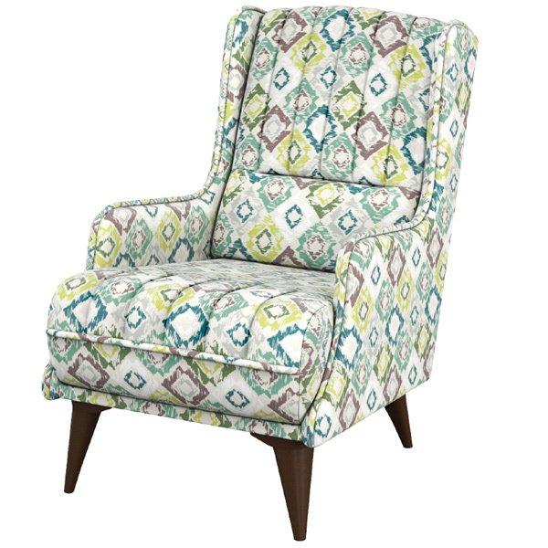 Кресло Болеро с разноцветным принтом