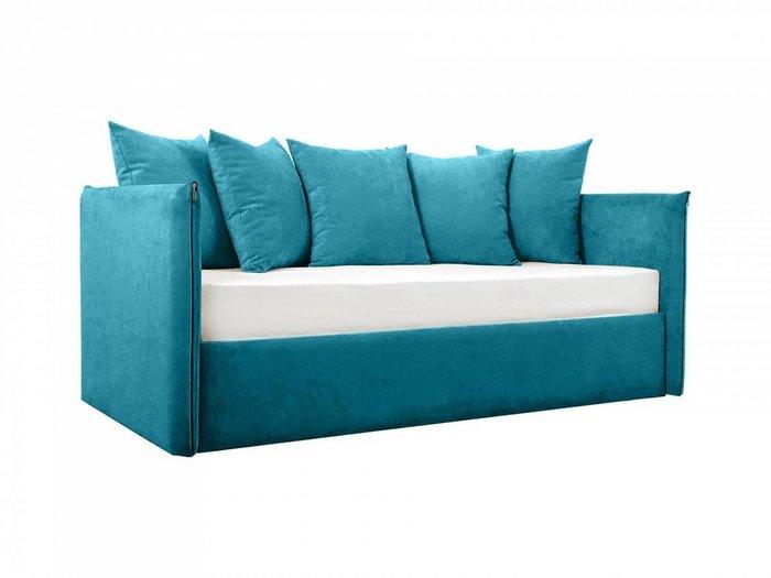 Диван-кровать Milano синего цвета