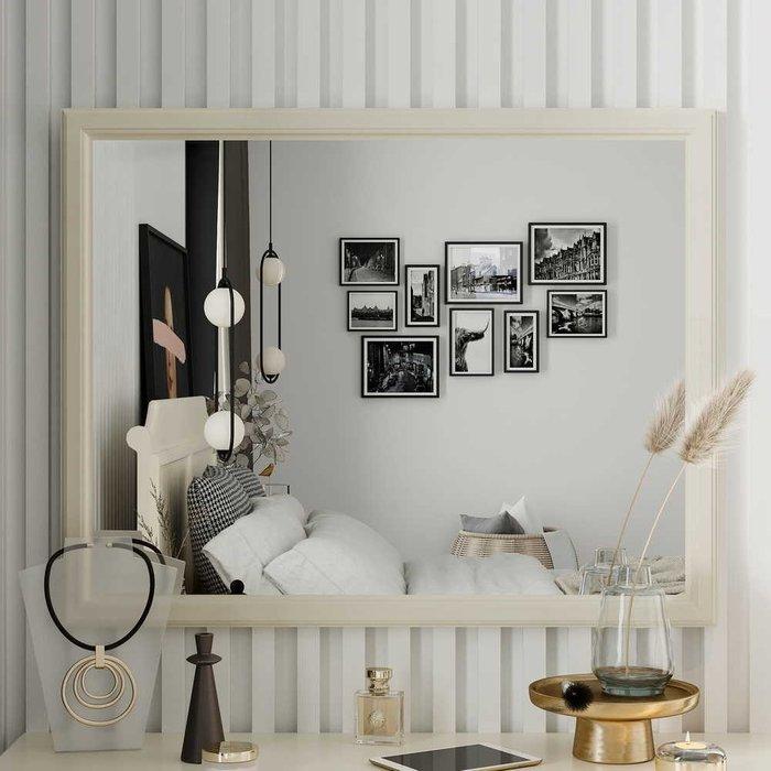 Зеркало настенное Маргарет цвета Дуб королевский