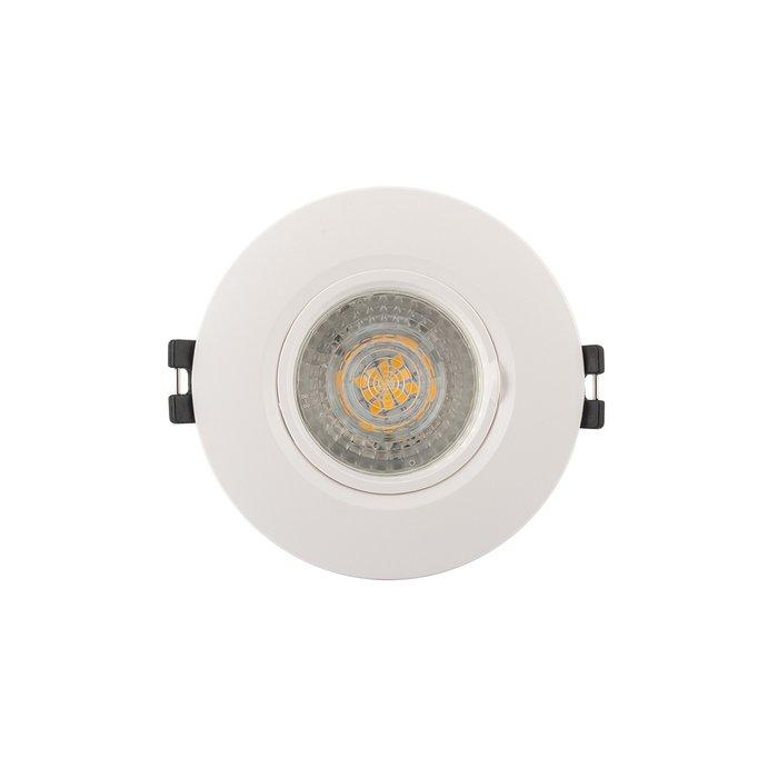 Встраиваемый светильник белого цвета