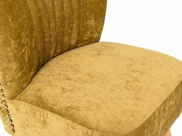 Кресло Barbara желто-бежевого цвета