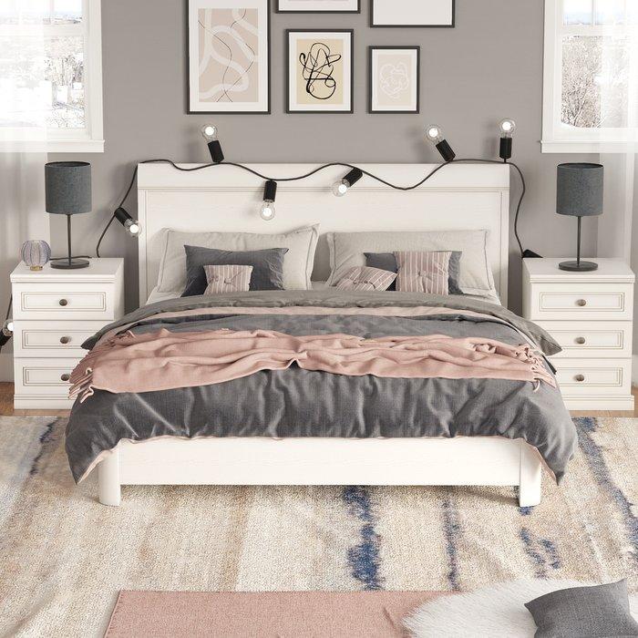 Кровать Белладжио 180х200 белого цвета